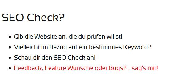 seocheck