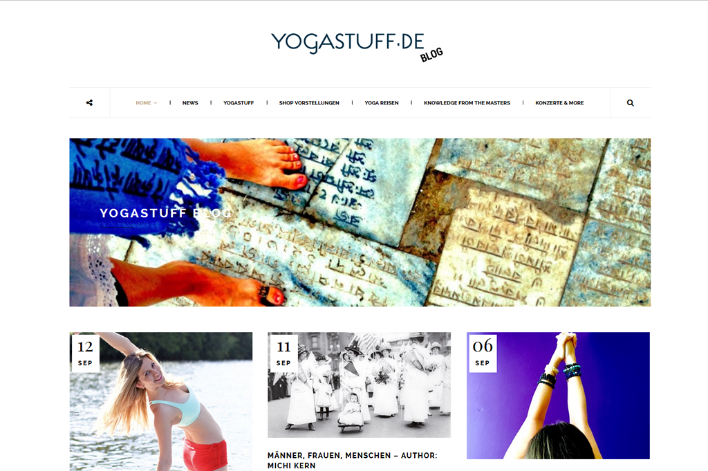 Yogastuff Blog