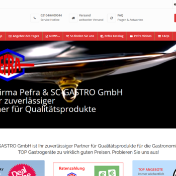 PEFRA & SC-GASTRO GmbH