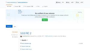 Download alte WooCommerce Versionen