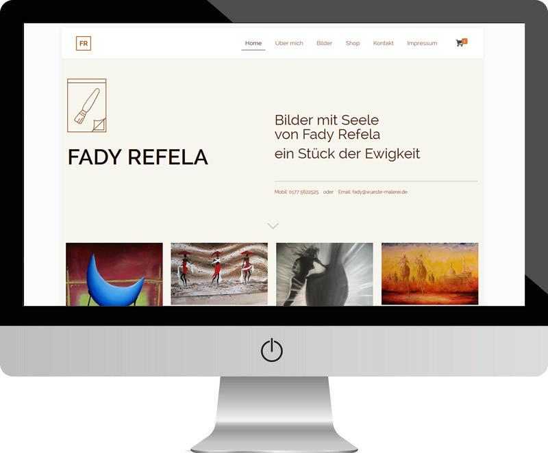 Wüste Malerei – Fady Refela