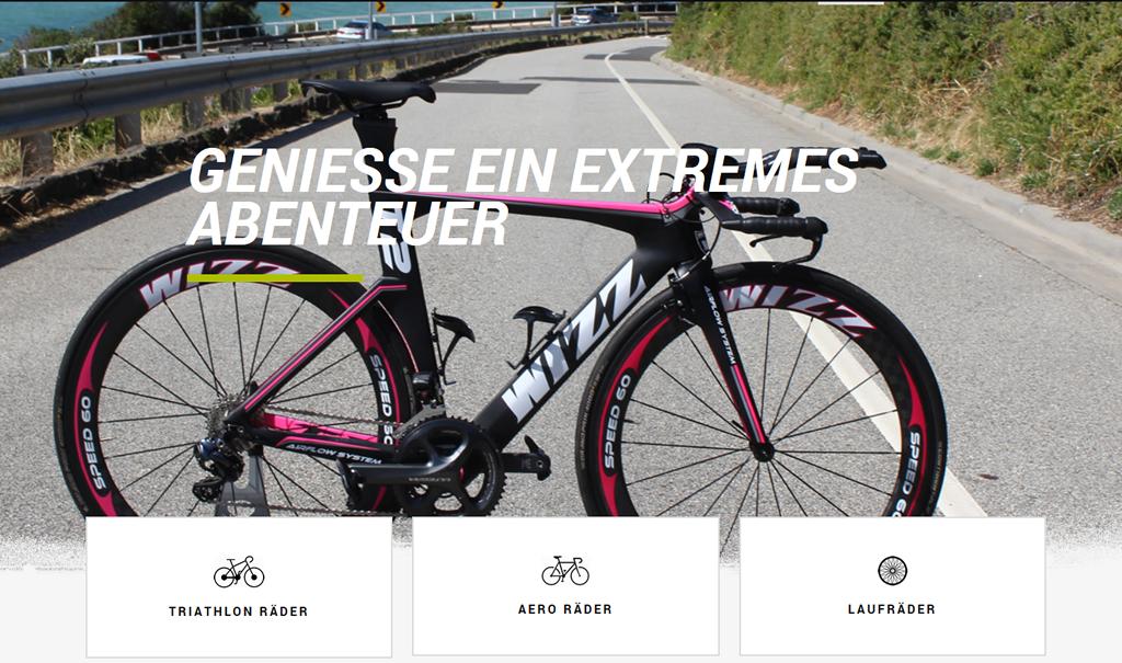 RideWIZZ – WIZZ Racing Bikes