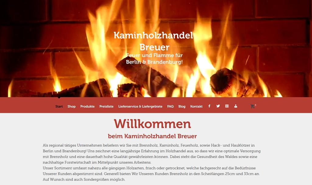 Kaminholzhandel Breuer Berlin