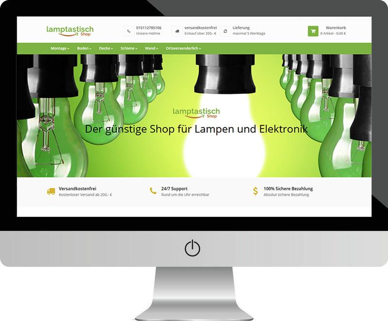 Lamptastisch – der Lampenshop