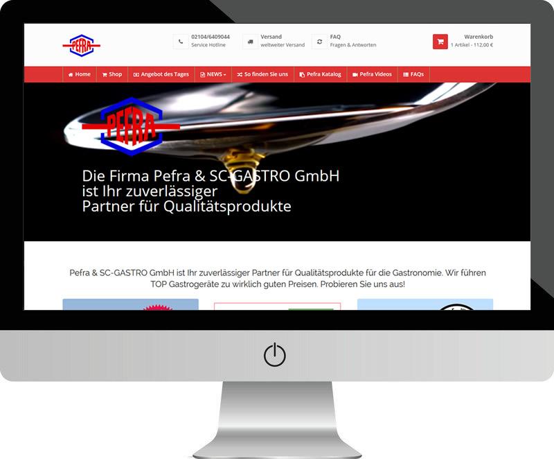 Pefra & SC Gastro GmbH – alles für die Küche
